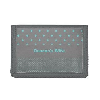 執事の妻の財布 ナイロン三つ折りウォレット