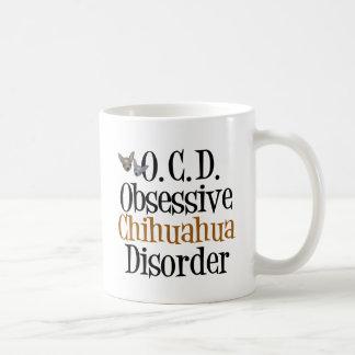 執拗なチワワの無秩序 コーヒーマグカップ
