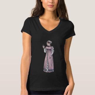 執権期間のファッションのジェーンAustenのワイシャツ-女性#6 Tシャツ