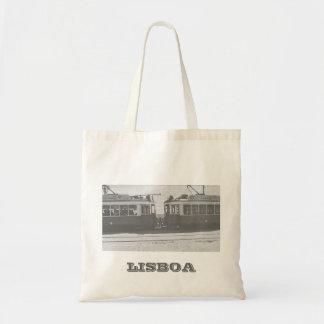 執筆のリスボンの市街電車 トートバッグ