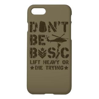 基本があないで下さい: 重い持ち上げますか、または試みることを死んで下さい iPhone 8/7 ケース