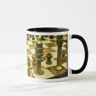 基本のクールなチェス盤 マグカップ