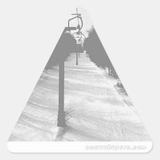 基本リフト 三角形シール