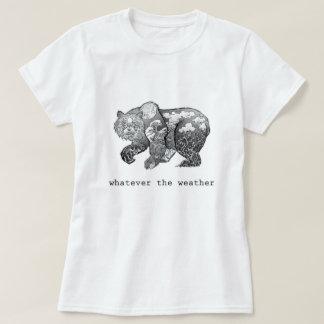 基本天候の女性ものは何でも Tシャツ