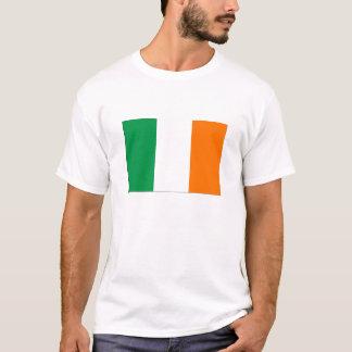 基本的なアイルランドの旗のワイシャツ Tシャツ