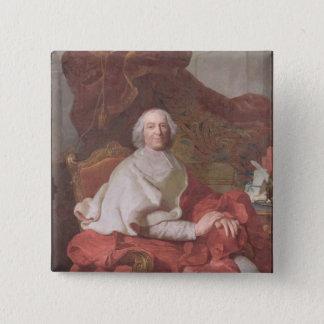 基本的なアンドレHercule de Fleury 5.1cm 正方形バッジ