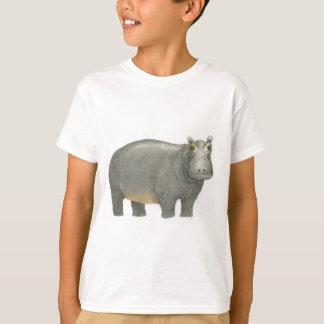 基本的なカバ Tシャツ