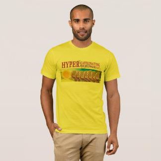 """基本的なティー- """"初心者のために超Caffeinating """" Tシャツ"""
