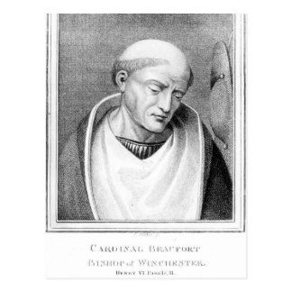 、基本的なヘンリーBeaufortウィンチェスターの司教 ポストカード
