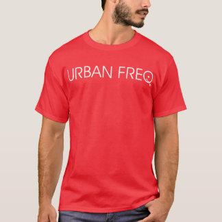 基本的なロゴのティーの赤 Tシャツ