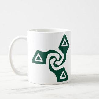 基本的な三矢(常緑樹) コーヒーマグカップ