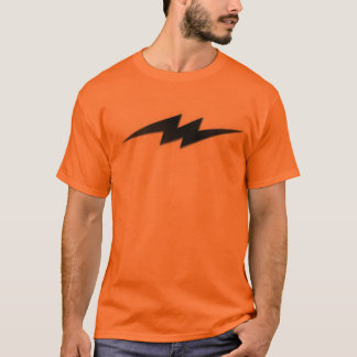 基本的な稲妻 Tシャツ