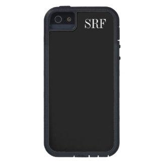 基本的な黒い携帯電話/iPhone5sの箱- SRF iPhone SE/5/5s ケース