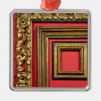 基本的なAgucchi 1605年のポートレート(キャンバスの油) メタルオーナメント