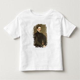 基本的なGraの従者からの人のポートレート トドラーTシャツ