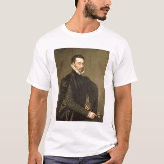 基本的なGraの従者からの人のポートレート Tシャツ