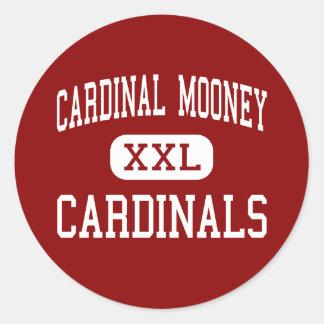 基本的なMooney - (鳥)ショウジョウコウカンチョウ-高Youngstown ラウンドシール
