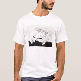 基本的なTシャツの白黒20年代のイメージ Tシャツ