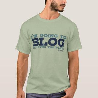 基本的なTシャツ(全体にわたってブログ) Tシャツ