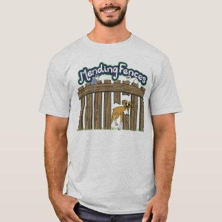基本的なTシャツ-灰 Tシャツ