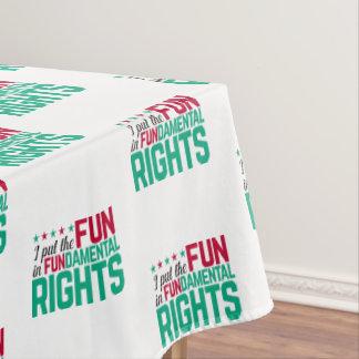 基本的権利 テーブルクロス