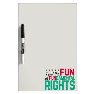 基本的権利 ホワイトボード