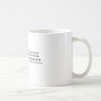 基本調理師のアメリカヘラジカおよびリス- コーヒーマグカップ