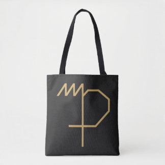 基本《星座》乙女座の(占星術の)十二宮図の印 トートバッグ