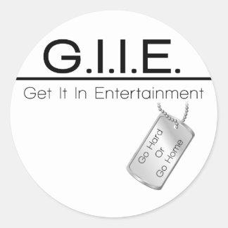 基本GII数々の項目 ラウンドシール