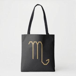 基本Scorpiusの(占星術の)十二宮図の印 トートバッグ