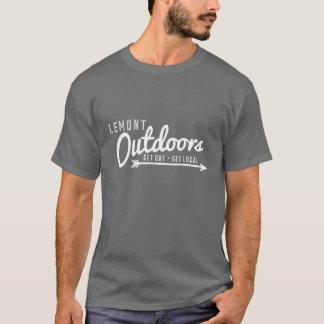 基本T Lemontのアウトドア Tシャツ