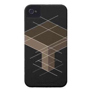 基準線が付いている構造 Case-Mate iPhone 4 ケース