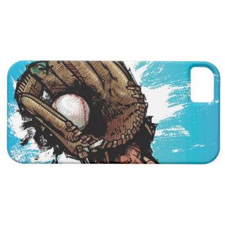 基礎球が付いている野球用グラブ iPhone SE/5/5s ケース