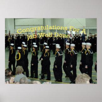 基礎訓練キャンプ海軍 ポスター