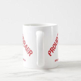 基金調達者のキャンペーン商品があること誇りを持った コーヒーマグカップ