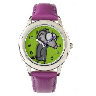 堀のマウス 腕時計