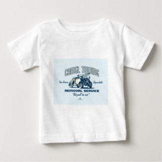 堅い中華なべの記念品 ベビーTシャツ