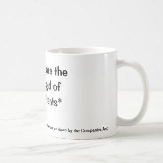 堅い会計士 コーヒーマグカップ