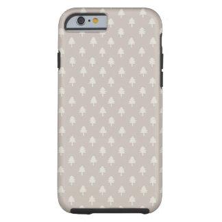 堅い冬の森林iPhone 6 ケース