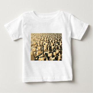 堅い地形 ベビーTシャツ