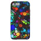 堅い抽象的なパターンきらきら光るなiPhone6 ケース