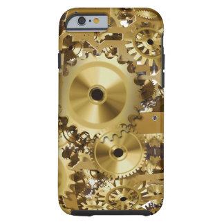 堅い時計の金ゴールドのイメージのiPhone 6/6s ケース