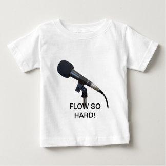 堅い流れそう! ベビーTシャツ