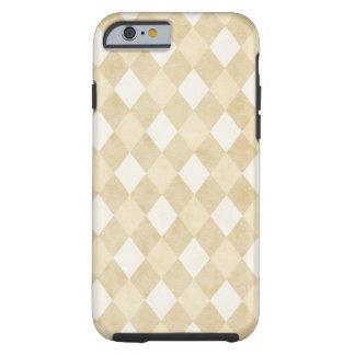 堅い淡黄色のクリーム色の道化師のiPhone 6/6s iPhone 6 タフケース