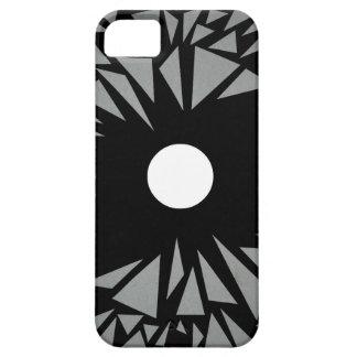 堅い点-デジタル芸術の電話箱 iPhone 5 ベアリーゼアケース