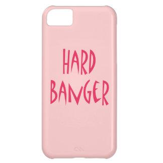 堅い爆竹の平野のピンク iPhone5Cケース