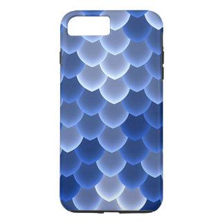 堅い神秘的で青および白いスケールの穹窖 iPhone 8 PLUS/7 PLUSケース