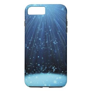 堅い魔法の青の抽象芸術の穹窖 iPhone 8 PLUS/7 PLUSケース