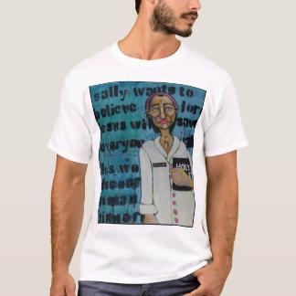 堅く把握 Tシャツ