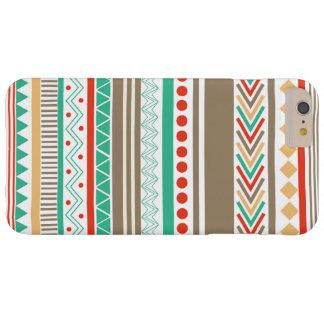 場合とかわいい着色された種族の形のiPhone 6/6s Barely There iPhone 6 Plus ケース